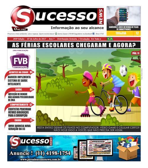 Jornal Sucesso News - Edição - 293 ONLINE