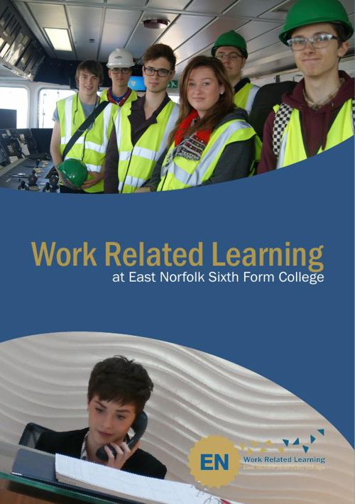 Work Related Learning Brochure