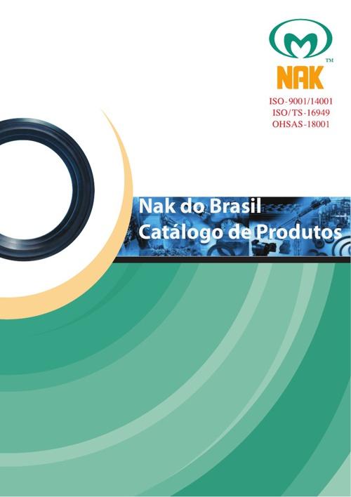 Catálogo de Produtos - Nak do Brasil