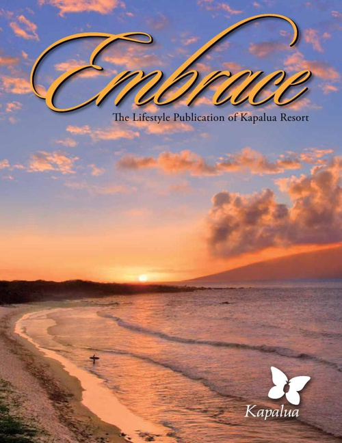 Kapalua Resort Embrace Magazine