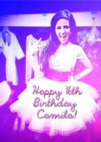 Happy 16th Birthday Camila!