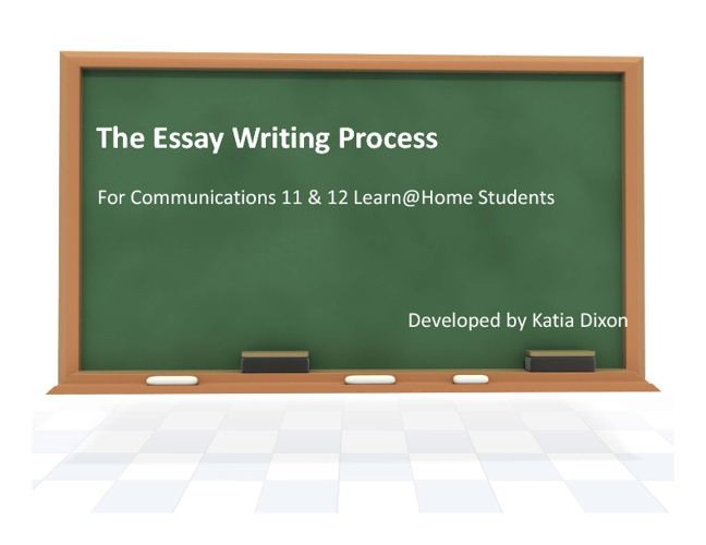 Essay Writing Background Information