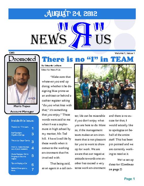 News R Us