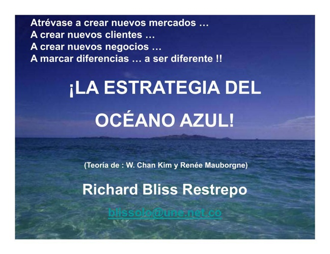 3 OCEANOS AZULES_Richard Bliss