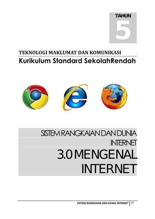 Bahan Sokongan Modul PdP Sistem Rangkaian dan Dunia Internet Bhg