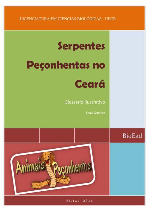 Ebook- Serpentes Peçonhentas no Ceará