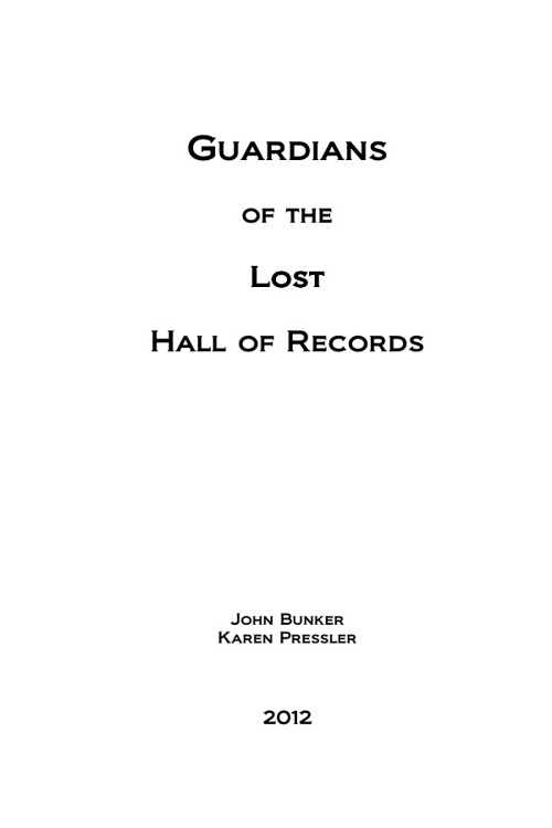 Guardians of the Lost Hall of Records