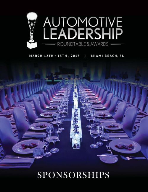 Automotive Leadership Roundtable Sponsorship Opportunities