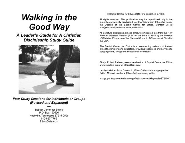 Walking in the Good Way - Leader Guide Preview