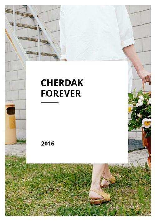 Cherdak Forever Collection Spring Summer 2016