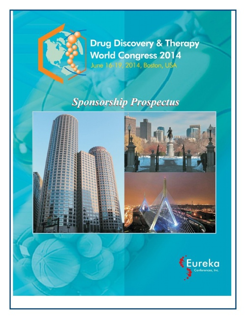 Drug Discovery & Therapy World Congress Prospectus-2014
