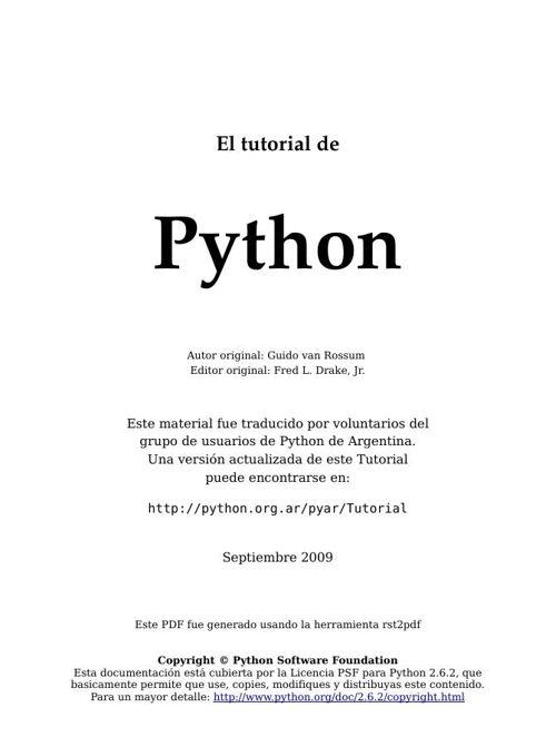 TutorialPython2