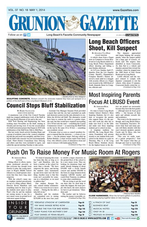 Grunion Gazette | May 1, 2014