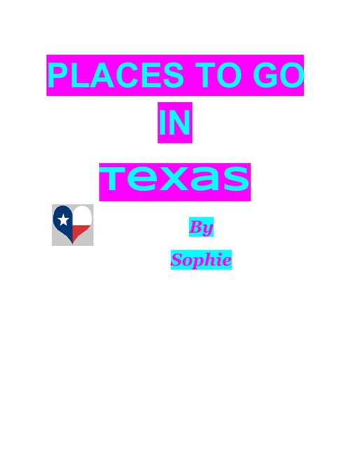 places to go in Texas