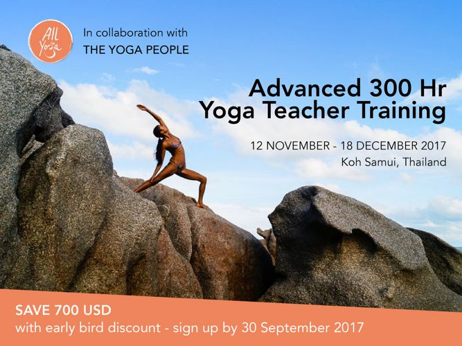 Advanced 300 Hr Yoga Teacher Training
