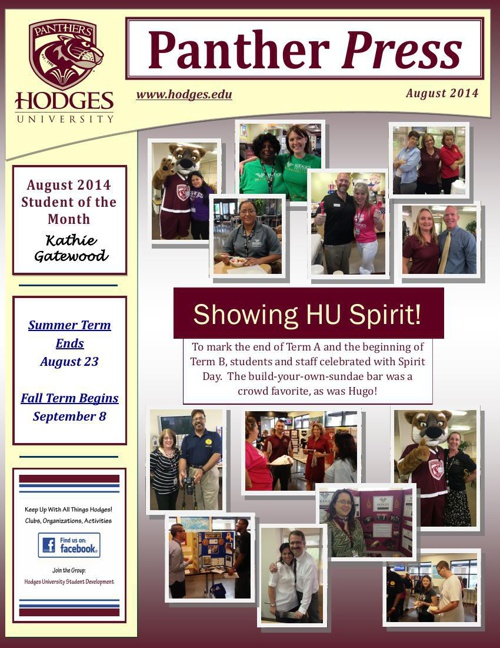 August 2014 Panther Press