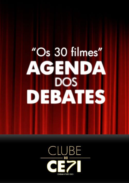 Agenda dos Debates - Clube do CE7I