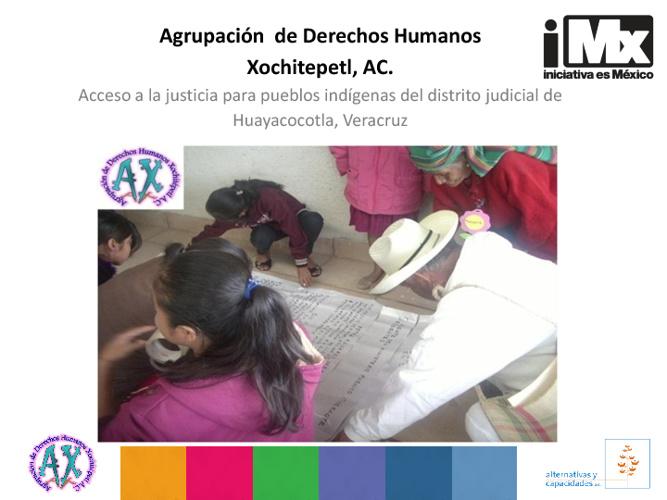 Agrupación de Derechos Humanos Xochitepetl, AC.
