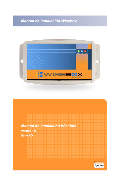 Manual de Instalación Wisebox