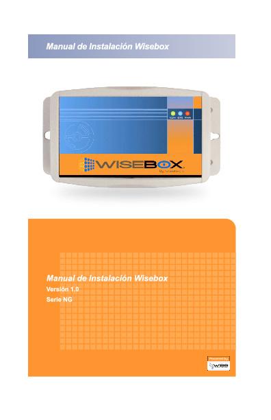 Manual de Instalación Wisebox