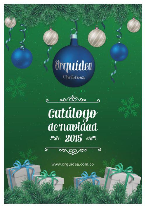 Catálogo de Navidad Orquídea 2015