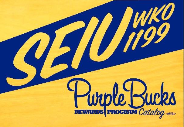 SEIU Purple Bucks