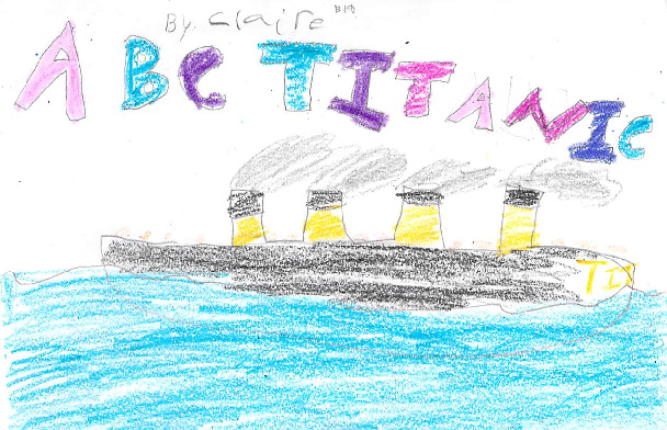 ABC Titanic by Claire