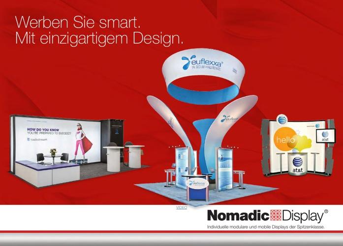Nomadic Display DE Product Brochure