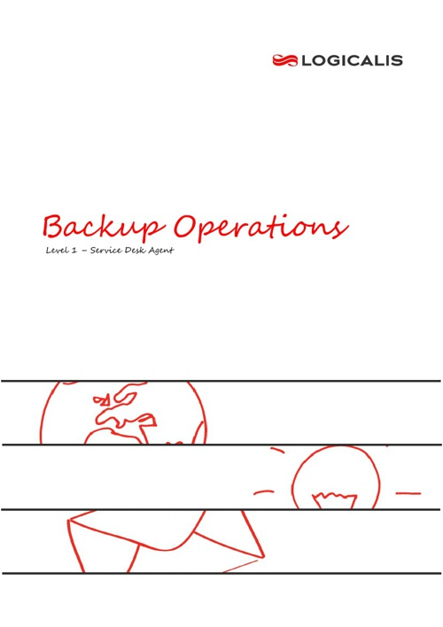 Backups  Operations Booklet