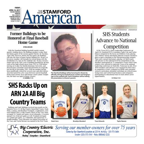 Stamford - Vol 8 Issue 35