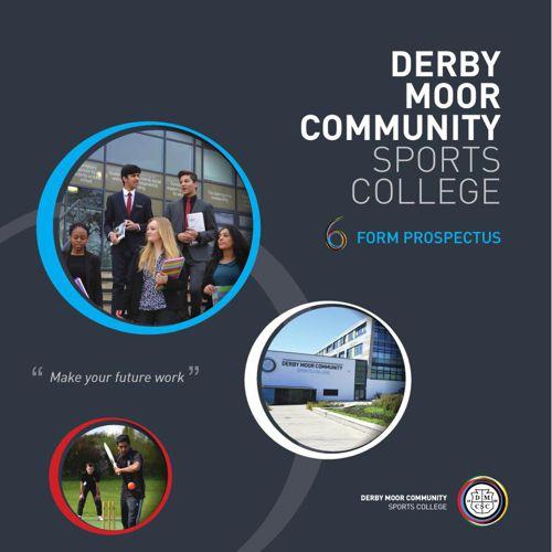 Derby Moor Sixth Form Prospectus