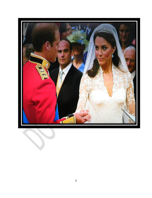 Royal Wedding Photo Catalog