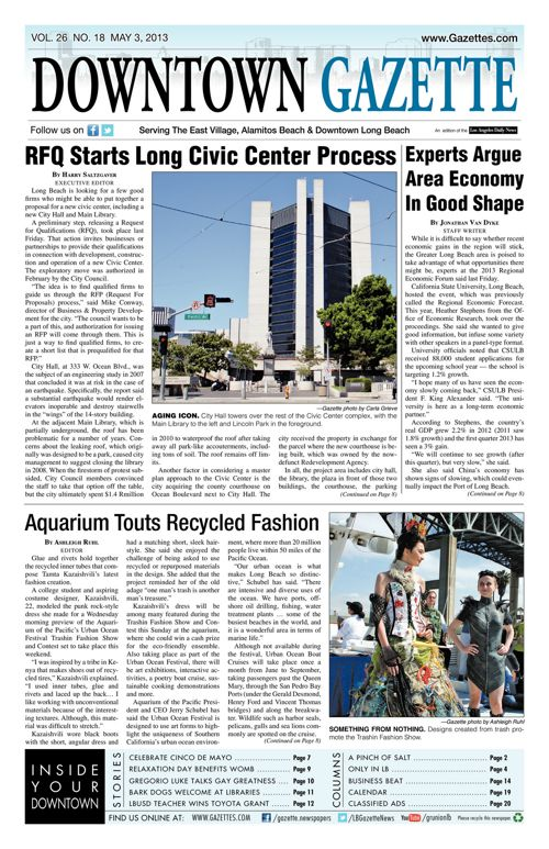 Downtown Gazette  |  May 3, 2013