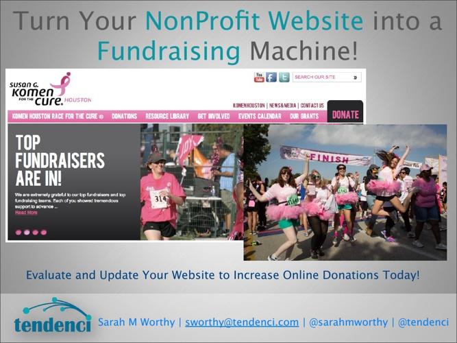 ESCHouston Fundraising Machine Flip