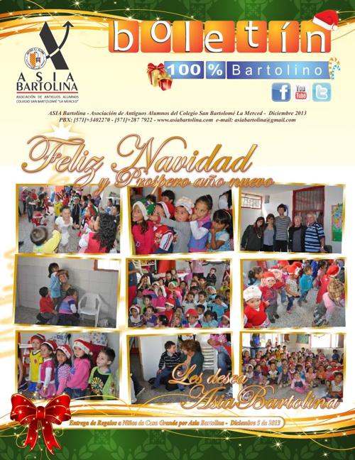 Boletín ASIA BARTOLINA Diciembre