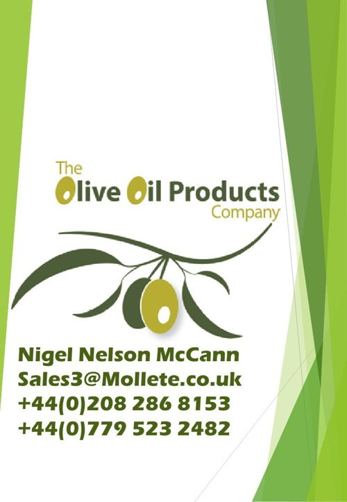 The Olive oil Product company