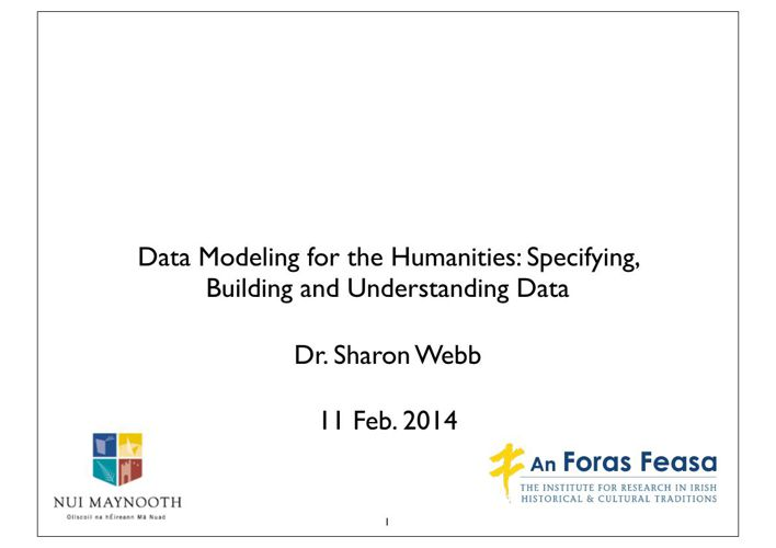DataModellingForTheHumanities11Feb2014