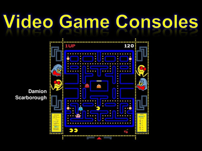 timeline for video game consoles