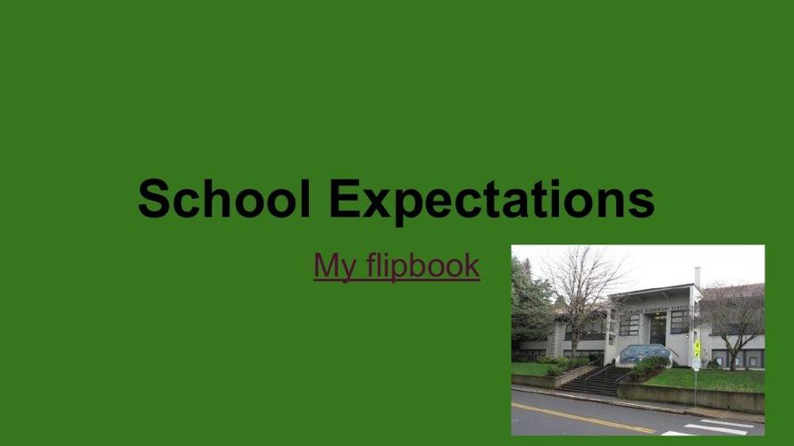 Aiden's School Expectations