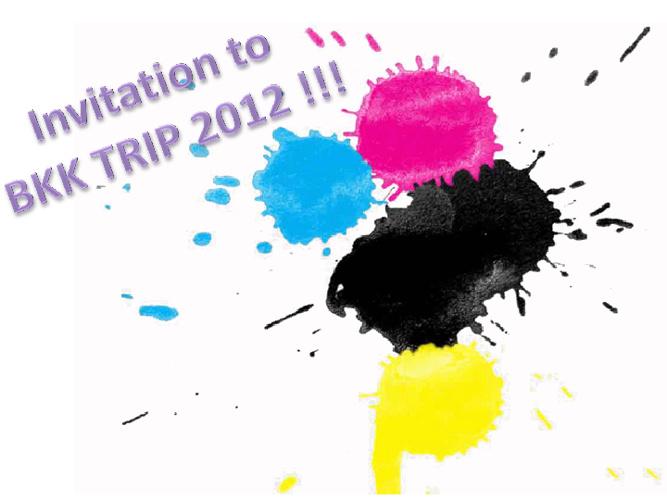 BKK TRIP 2012'