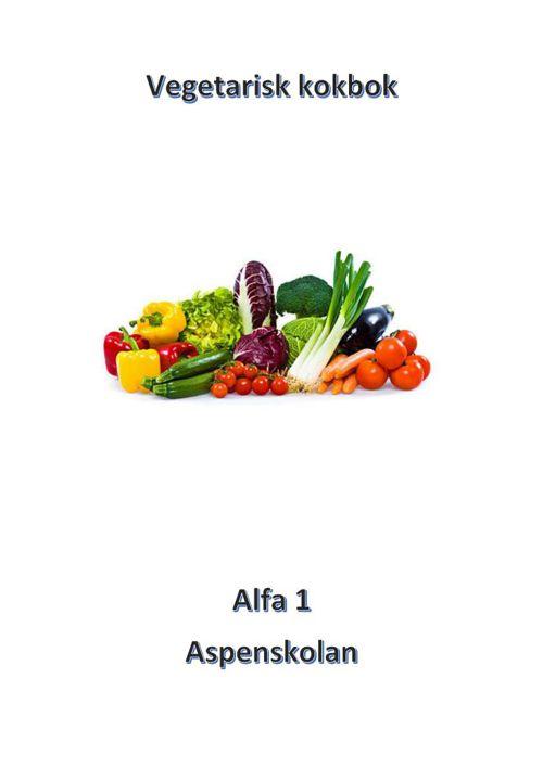 Vegetarisk kokbok framsida