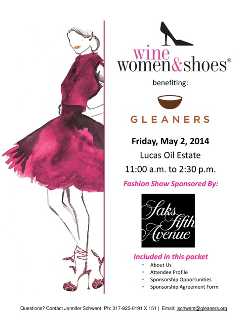 Wine Women & Shoes 2014