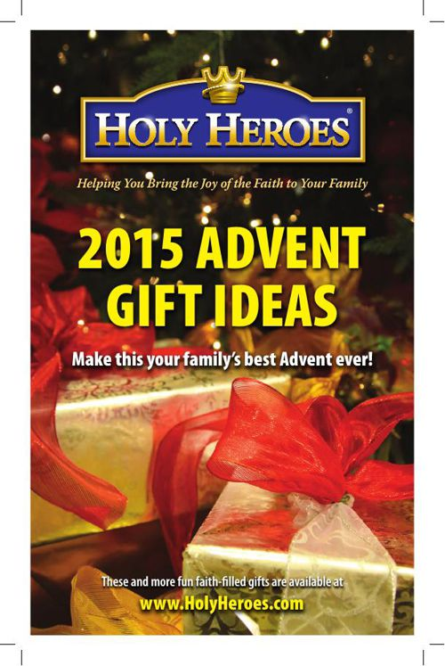 Holy Heroes Advent Catalog 2015