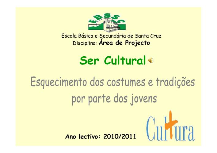 Ser cultural