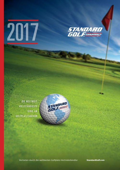 Standard Golf 2017 German Product Catalog