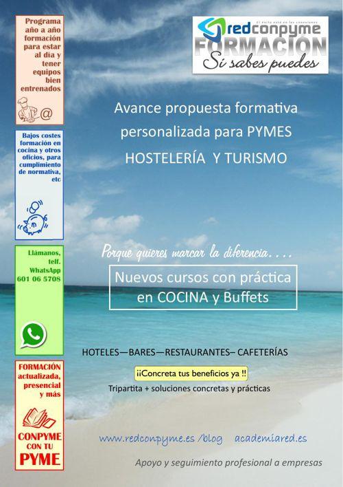 CONPYME CURSOS DE COCINA PARA EL HOTEL