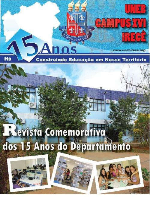 Revista dos 15 anos UNEB Irecê