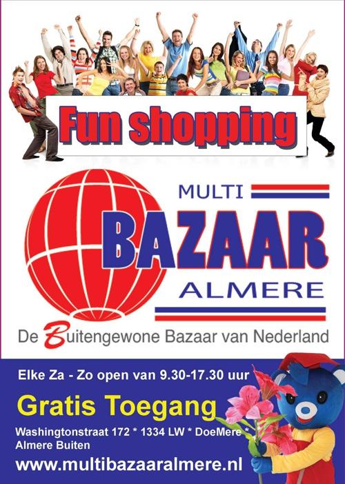 Multi Bazaar Almere, een impressie!