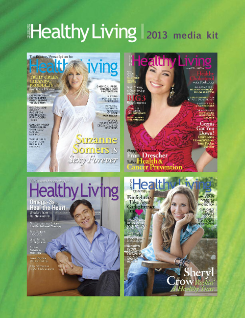 Healthy Living magazine 2013 Media Kit Flip