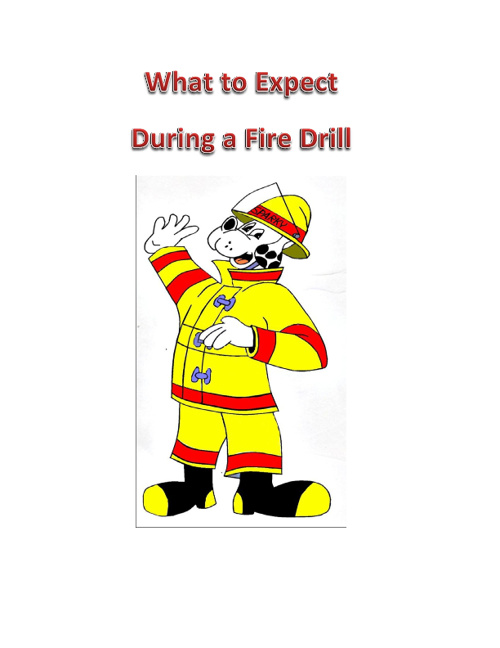 GPBS Preschool fire drill